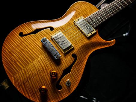 古賀氏の使用ギター、機材     7■PRS Full Acoustic