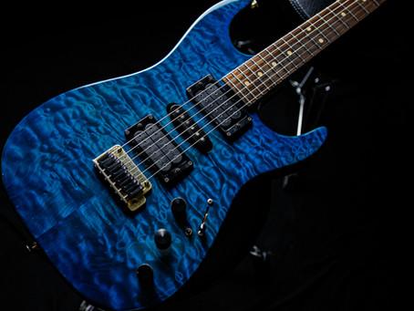 古賀氏の使用ギター、機材2■Sadowsky ST Model