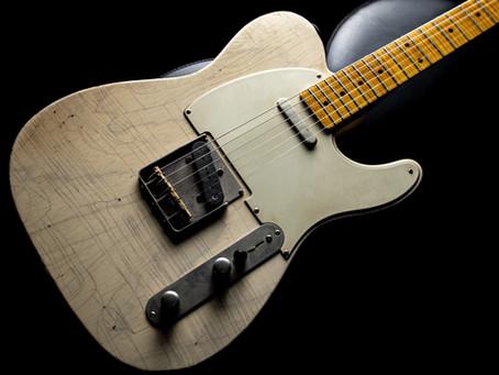 古賀氏の使用ギター、機材     4■TMG Guitar Co. Gatton Blonde