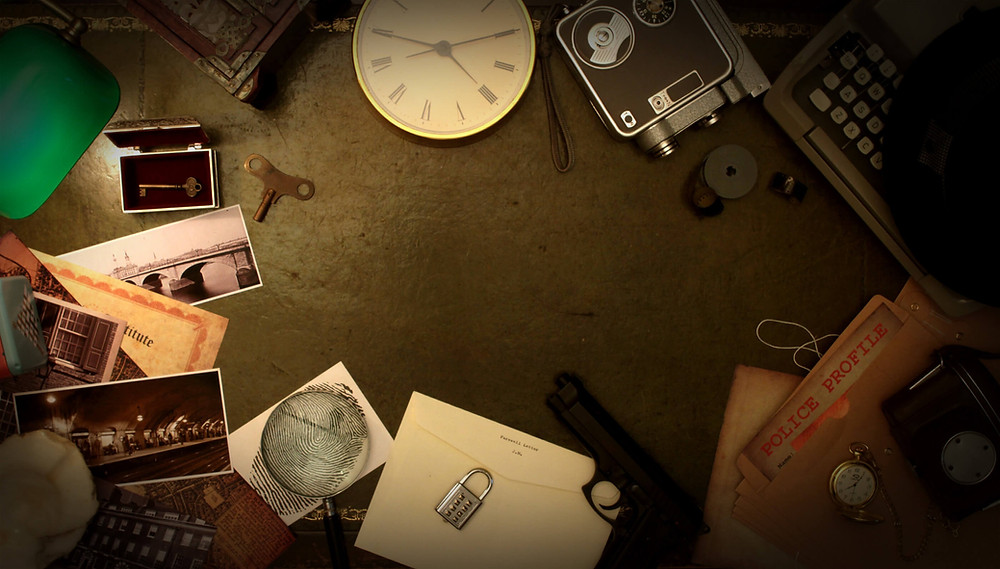 Online escape room dateidee