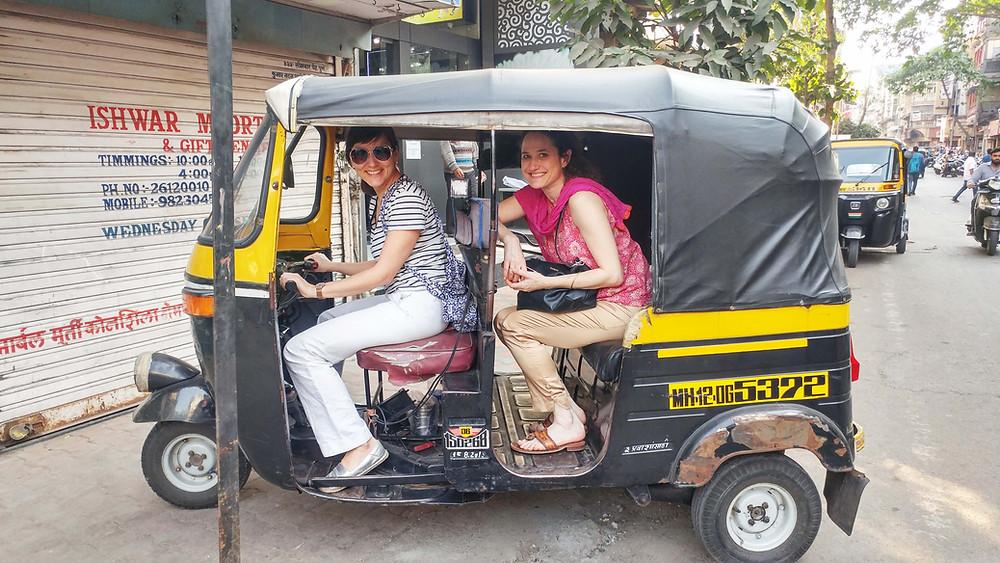 Claudiyengar & Elizabeth Brass in Pune