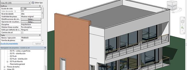 Modelo  realizado en curso de Revit Architecture