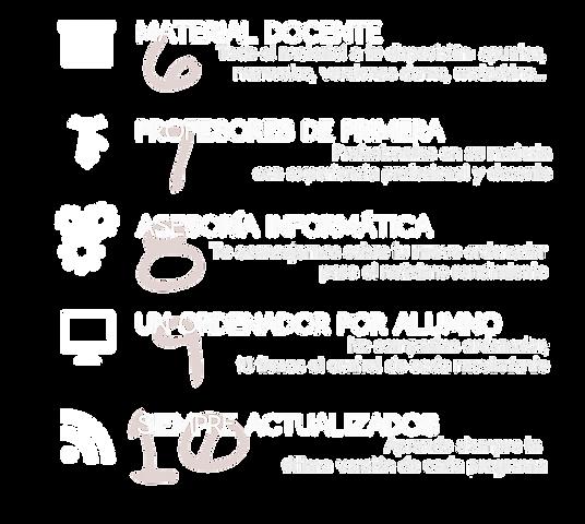Compromiso de calidad de la academia Ensenyem en Valencia para cursos presenciales