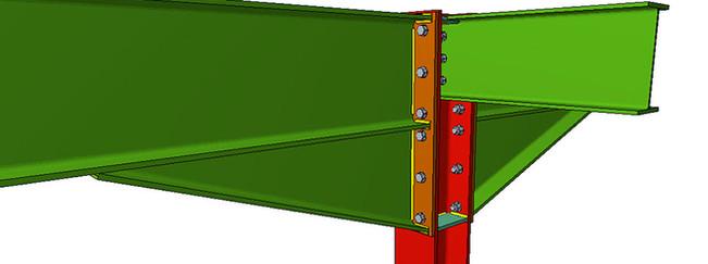 Imagen 01 unión estructura metálica