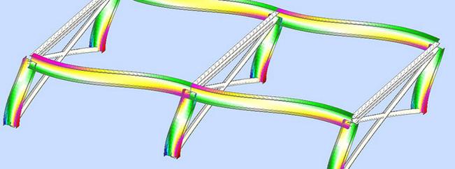 Imagen 04 de ejercicio de cálculo de estructura metálica