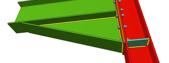 Imagen 02 unión estructura metálica