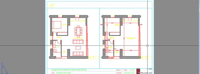 Plano de cotas y superficies