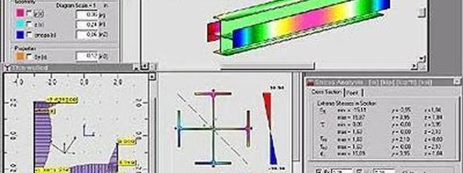Imagen 05 de ejercicio de cálculo de estructura metálica