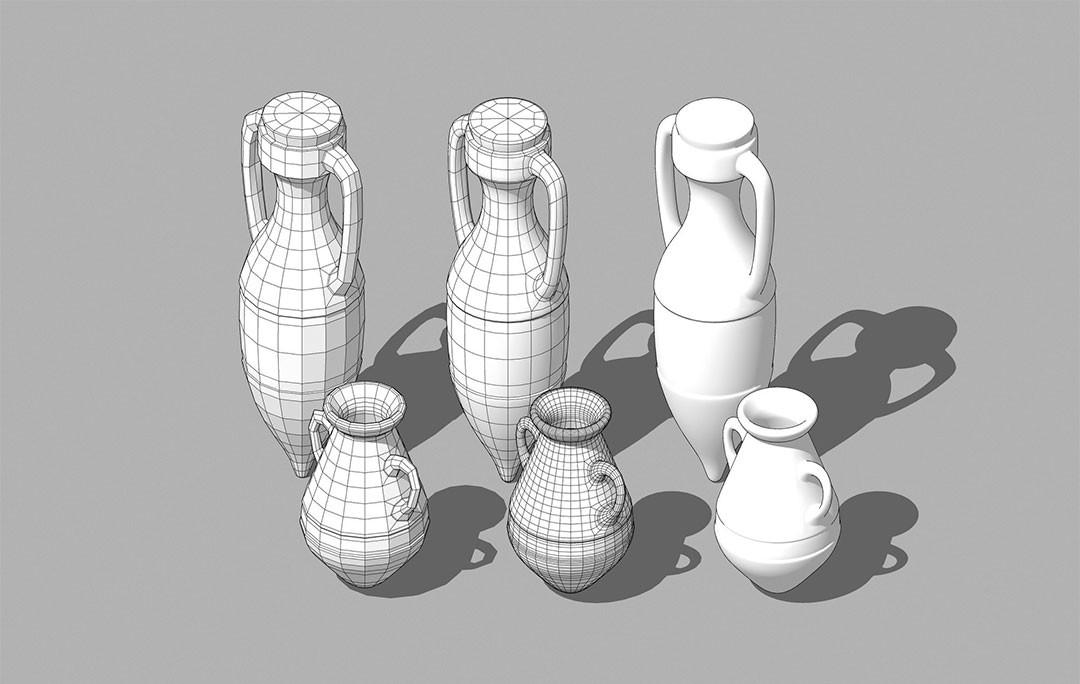 Pieza modelada en 3D con Sketchup
