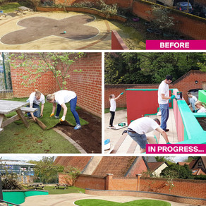 #ColourfulCommunities Project with PPG Industries