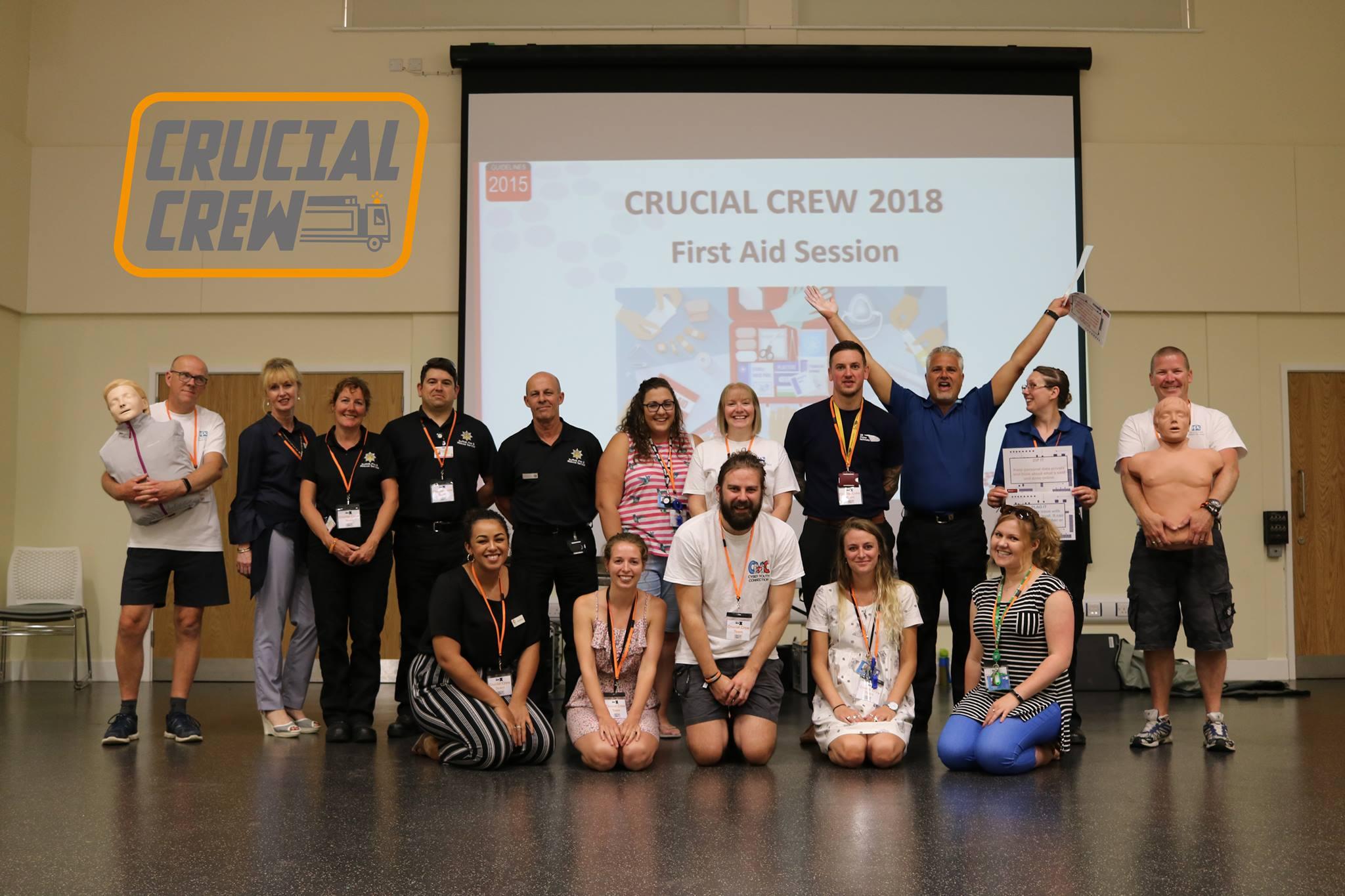 Crucial Crew 2018
