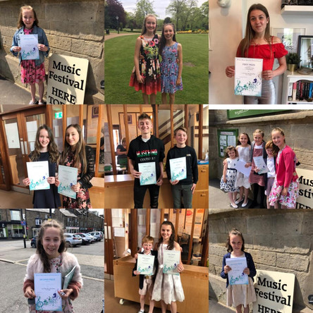 Perfect Pitch Pupils Festival Winners