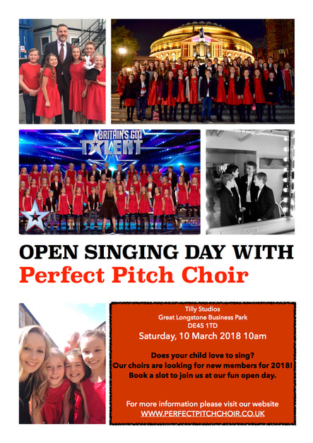 OPEN SINGING DAY!