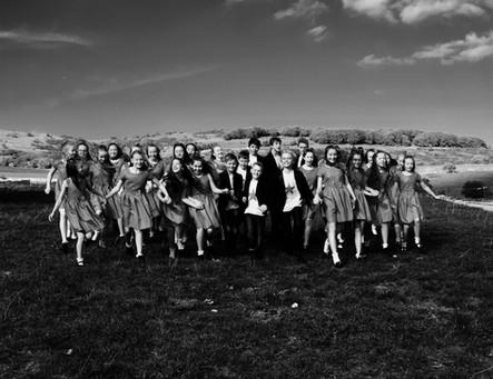 Photoshoot for the choir!