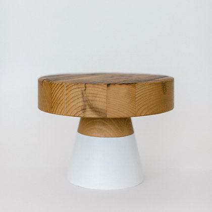 White-dipped Cake Stand