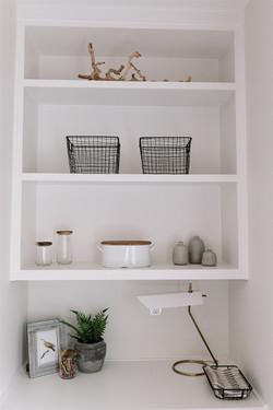 Builtin design and shelf styling by Laura Design and Co, Dallas interior designer