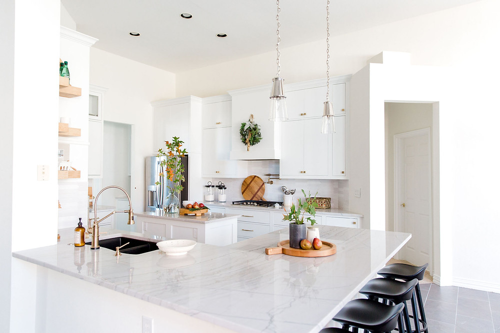 Kitchen design by Laura Design and Co, Dallas interior designer