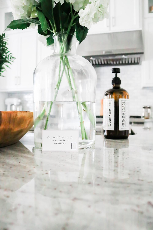 Kitchen design by Laura Design and Co, Flower Mound based interior designer