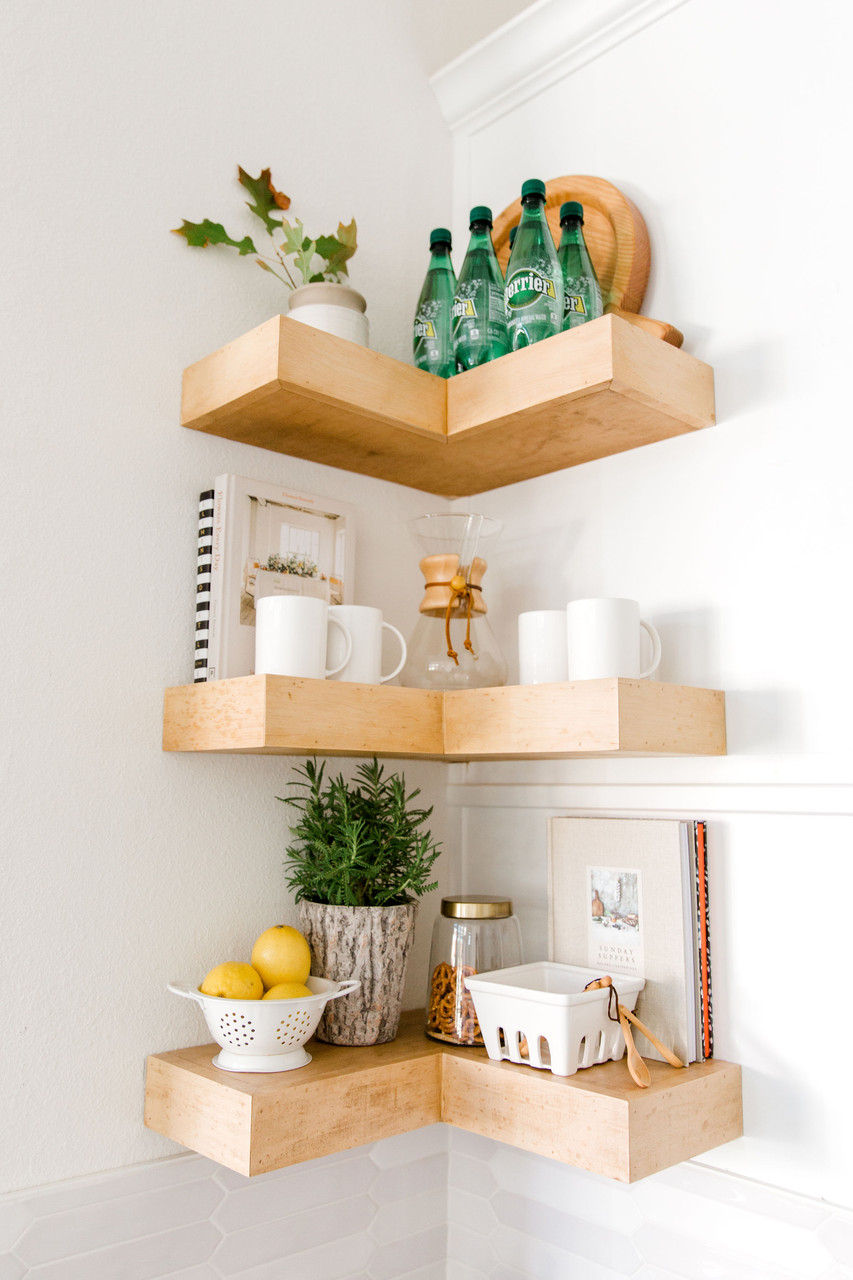 Laura Design and Co floating shelves
