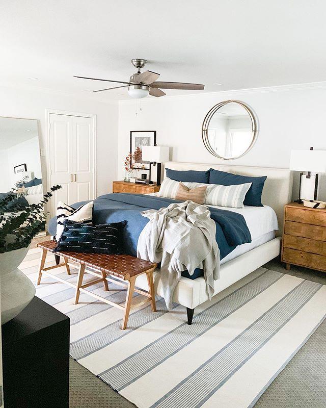Bedroom design by Laura Design & Co, Dallas interior designer