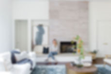 Laura Design and Co living room design