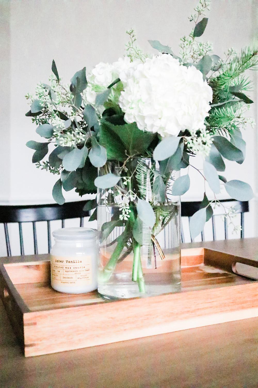 Flower arrangement by Laura Design and Co, Flower Mound interior designer
