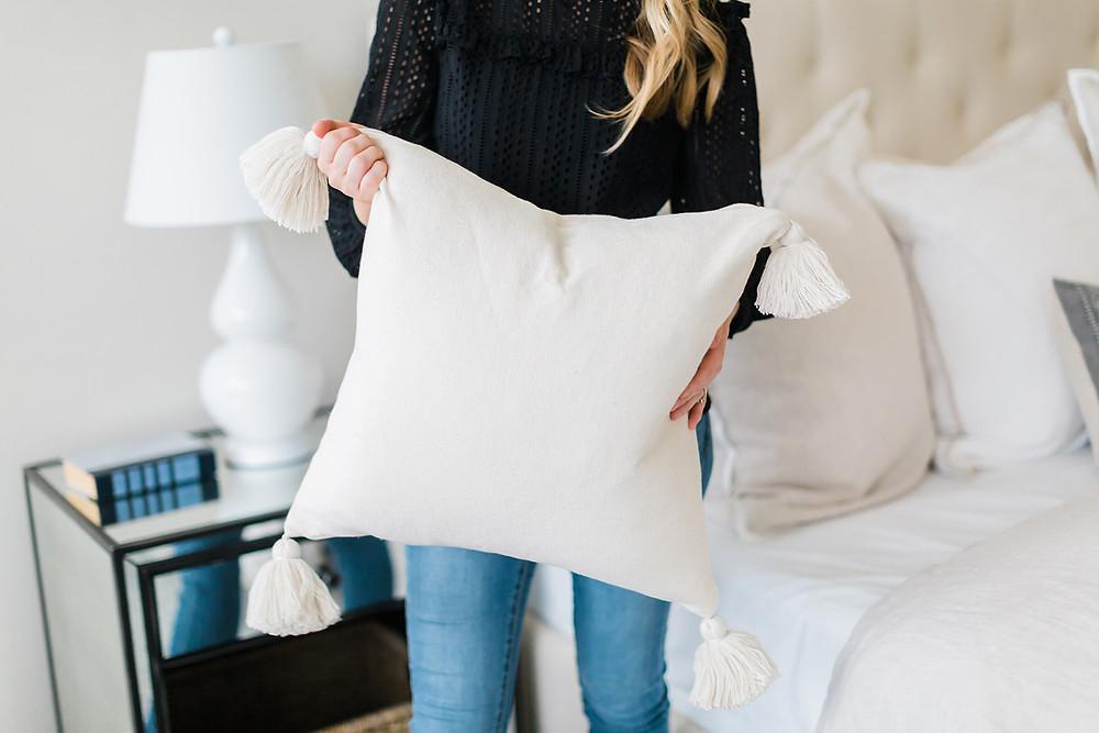 bedroom design by Laura Design and Co, Dallas based interior designer