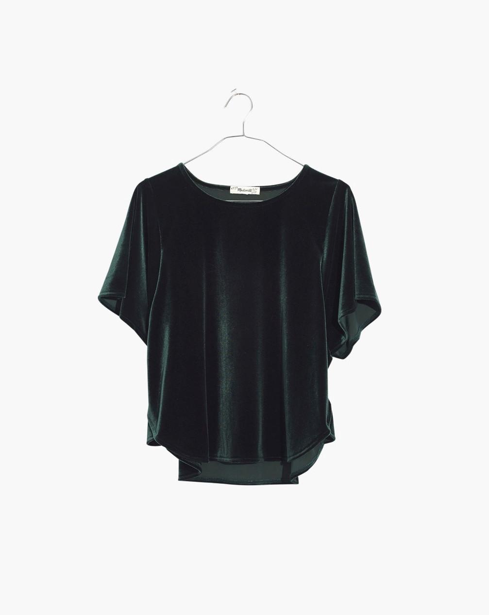 Green Madewell top