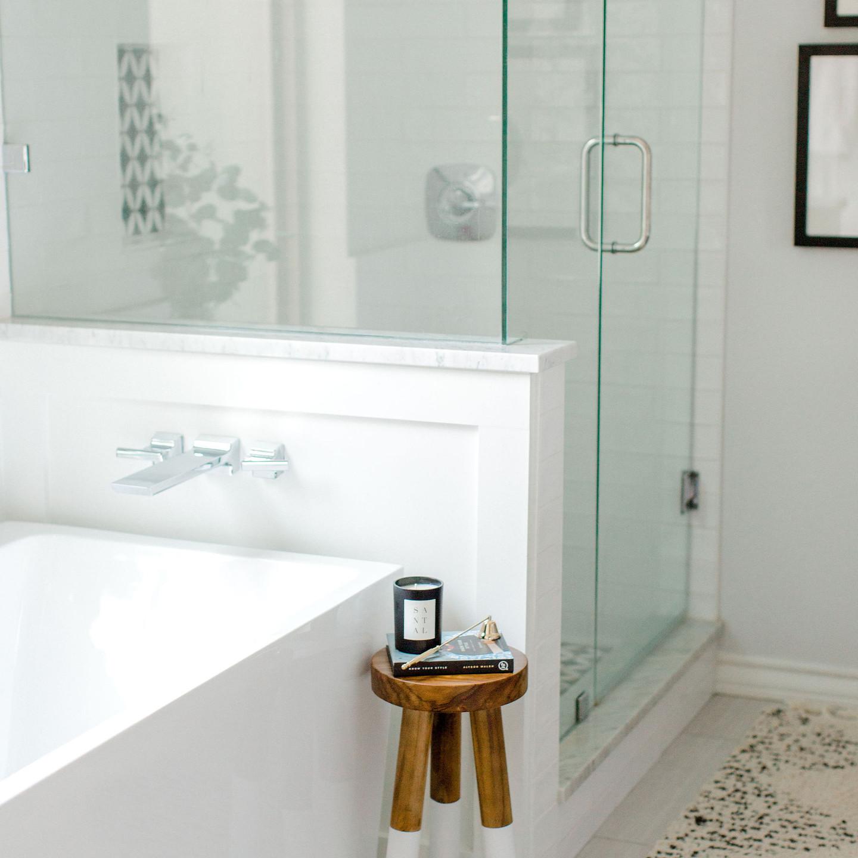 Bathroom design by Laura Design & Co, Dallas interior designer