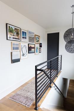 Gallery wall design by Laura Design and Co, Dallas interior designer