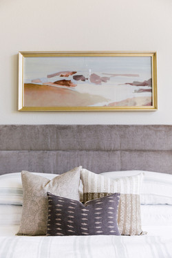 Bedding styling & design by Laura Design