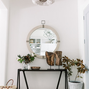California Cool Reveal, Part 1: Entry Area + Home Office
