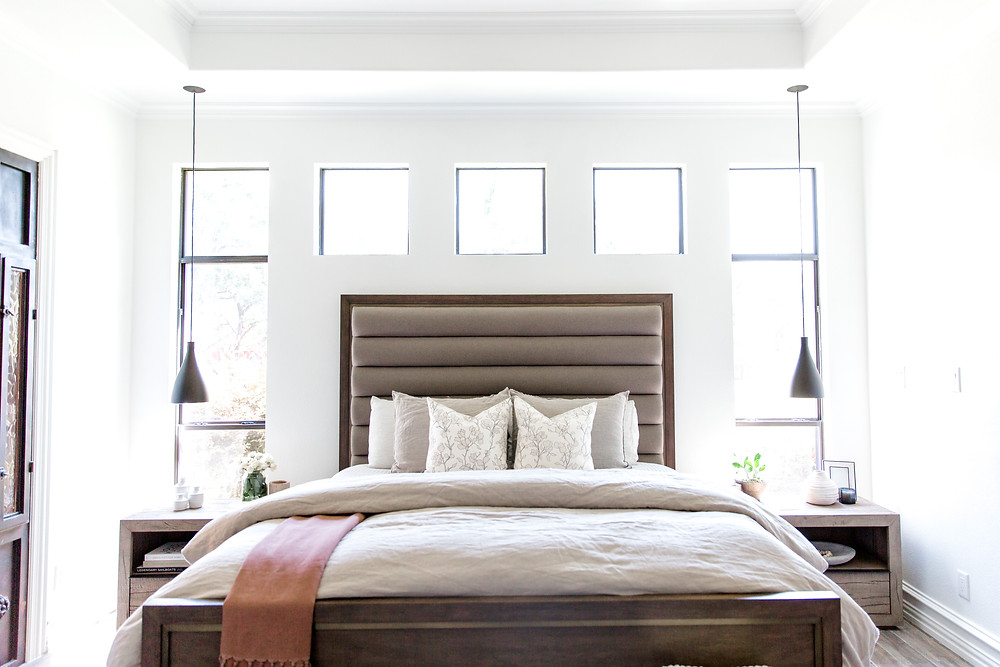 Bedroom design by Laura Design and Co, Dallas based interior designer