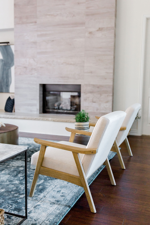 Living room design by Laura Design and Co, Dallas interior designer