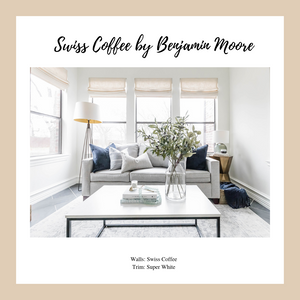 Laura Design and Co's Favorite White paint colors