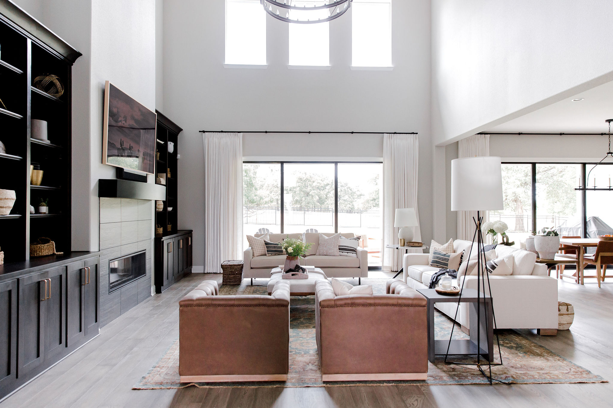 Laura Design and Co living room design,