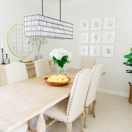 Dining Room Design by Laura Design and Co