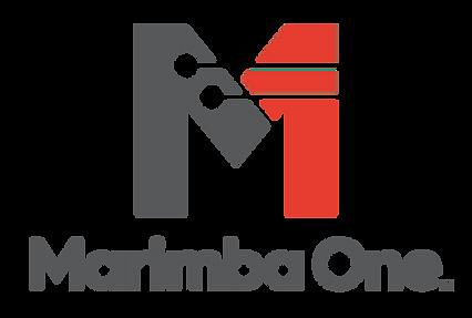 MarimbaOneLogo_ComboLG-ColorCharcoalRedP