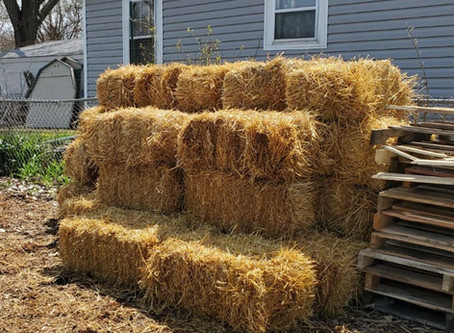40 bales of straw