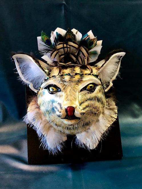 Silvery Sonoran Bobcat