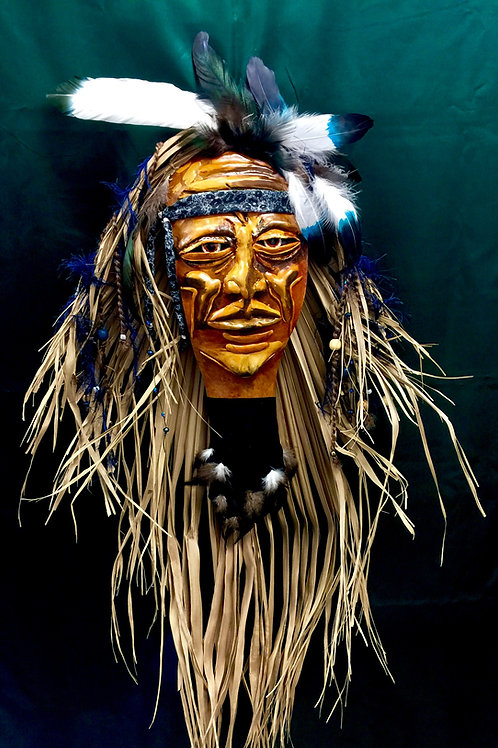 Native Warrior Mask