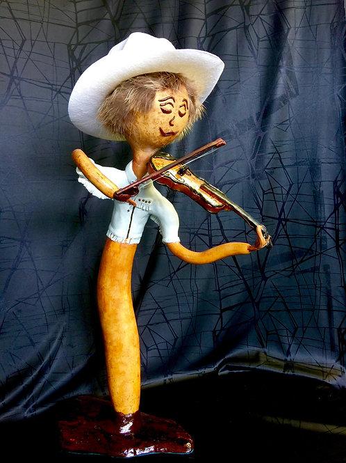 Fiddling Cowboy