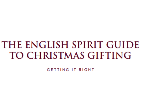 The English Spirit Guide to Christmas Gifting