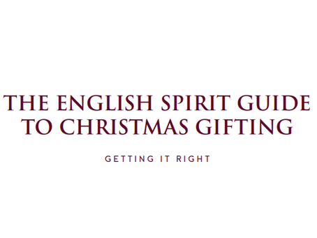 The English Spirit Guide to Christmas Gifting