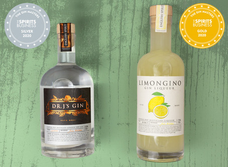 Two awards from the 2020 Gin Masters