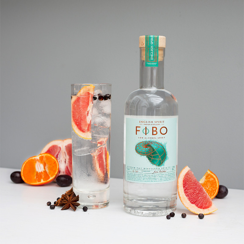 FIBO low alcohol spirit & tonic