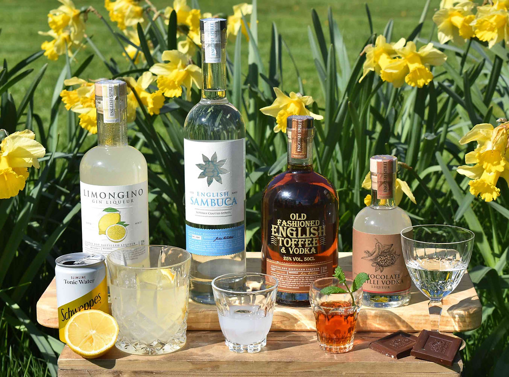2019 Easter selection of spirits and liqueurs
