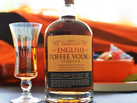 Toffee Vodka Liqueur: No tricks, just treats