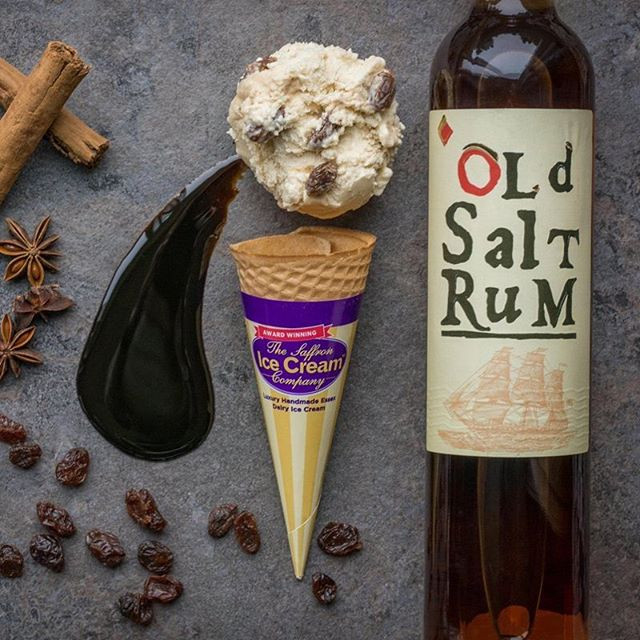 Old Salt Rum & Raisin ice cream