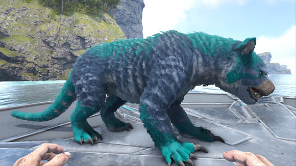 New top stats Thylacoleo lvl 253 unleveled